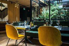 café, restaurant en hotel The Lobby in Amsterdam Hotel Interiors, Restaurant Design, Cafe Restaurant, Interior Inspiration, Design Inspiration, Interior Design, Interior Photo, Design Design, Design Ideas