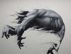 As incríveis pinturas em preto e branco de Paolo Troilo