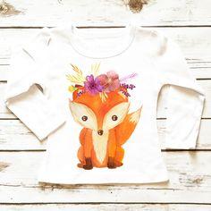Woodland Fox   Toddler Shirt