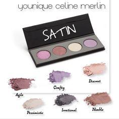 Créer votre propre palette makeup avec les 25 nouvelles couleurs de fards à paupières younique (shimmer, mats, metallic, satin)
