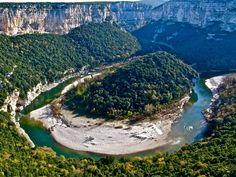 Les gorges de l'Ardèche Les plus beaux coins de France