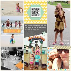 2015: Week 26 {right} My Life Templates 7 by Scrapping with Liz Everyday Life July Bundle by Juno Designs