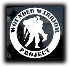 wounded warrior project sticker Find great deals on ebay for wounded warrior project decal and wounded warrior project sticker shop with confidence.
