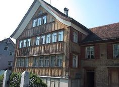 Haus Fortuna Appenzell Multi Story Building, House