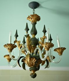 Chandelier, Grand Hotel, Mackinac Island, MI