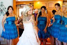 17 Stunning Brides With Tattoos 2
