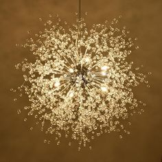 Modern Dandelion LED Chandelier Fireworks Pendant Lamp Ceiling Light Home Decor  | eBay