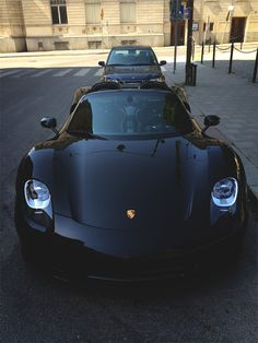 The Porsche 918 Spyder is a Hybrid supercar with a limited production of 918 units that ended in The car is available as a coupe and as roadster. Maserati, Bugatti, Lamborghini, Ferrari, Porsche 918, Porsche Cars, Black Porsche, Audi, Bmw