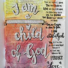 Seht, wieviel Liebe… | Bible Art Journaling