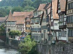 Schwäbisch Hall (I'm pretty sure Snow White can be found somewhere in this village.)
