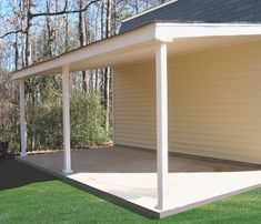 Best Photos Simple Tool Shed 16′ Lean To Shed With A 4 12 640 x 480
