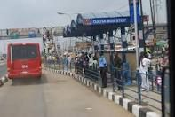 BRT bus stop