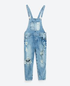 New Autumn Women Denim Jumpsuit Ripped Light Blue Overall Elegant Pocket Plus Size Casual Ladies Bodysuit Rompers Washed Denim Dungarees, Denim Jumpsuit, White Jumpsuit, Pretty Outfits, Beautiful Outfits, Cool Outfits, Teen Fashion Outfits, Look Fashion, Style Clothes