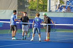 THE UNDER-13 SET According to the Tennis Industry Association, more than 2 million players from ages 6 through 12 played tennis in 2013, an increase of 4.8 percent over 2012. (Photo courtesy of Sportime/John McEnroe Tennis Academy)