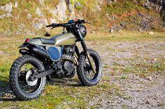 Cafe Racer Special: Honda NX 650 Dominator Street Tracker / Scrambler