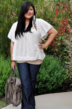 {Rare Birds} REAL #CurvyGirl inspiration from Allison Tang, her blog: Curvy Girl Chic #plussize #fashion