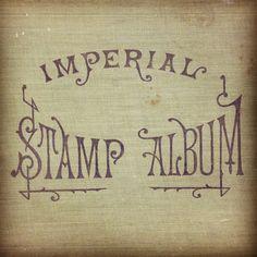 Imperial Stamp Album