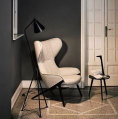 Armchair by Patrick Norguet for Cassina Modern Interior Design, Interior Design Inspiration, Interior Ideas, Design Ideas, Living Room Chairs, Living Room Furniture, Lounge Chairs, Patrick Norguet, Furniture Design