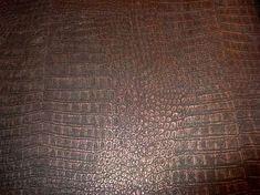 bruin brons krokodillen vlies behang 23 - Alperbehang