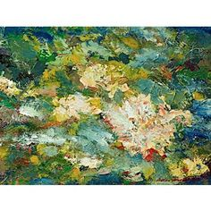 Check out this item at One Kings Lane! Freidlander, Floral Abstract Canvas