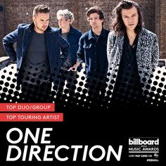 The guys are nominated in two BBMAs categories! Tune in May 22nd