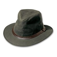Filson Shelter Cloth Packer Hat Large Otter Green -- You can get more details by clicking on the image.