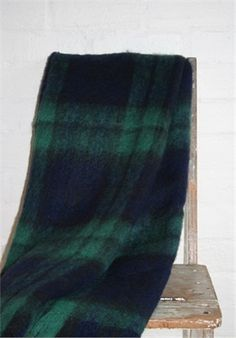 Mohair Mill Shop | Mohair Blankets | Blackwatch Mohair Blanket
