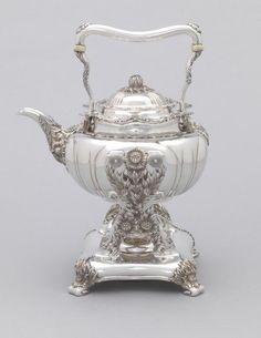 Tiffany Chrysanthemum Tea Set, 1891-1902