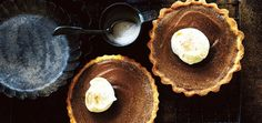 Give these delicious pumpkin pies some richness & depth by adding a shot of your favourite coffee. Serve with thickened cream & plenty of cinnamon.