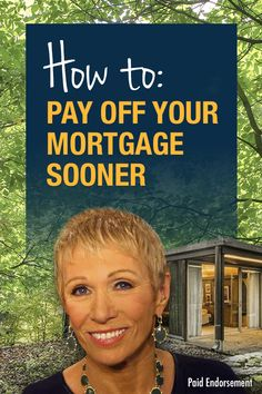 """Real estate expert and """"Shark Tank"""" star Barbara Corcoran offers 3 easy tips to help homeowners pay off their mortgage in half the time. Interest rates are the lowest they've been in years, so the savings could be huge!"""