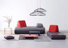 Rozkládací sofa Urban Nomad, Hannabi, cena od 40 620 Kč, WWW. HANNABISOFA. HU