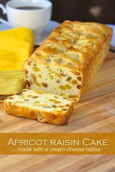 Apricot Raisin Cake is a popular Holiday recipe here in Newfoundland but it makes a wonderful baked treat at any time of year; stays fresh for several days.