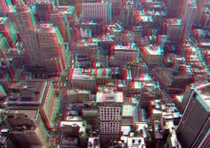 Manhattan in New York - 3D