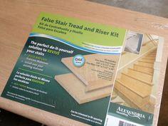 Wonderful IHeart Organizing: False Stair Tread And Riser Kit