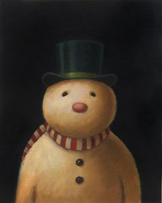 Image detail for -Snowman Portraits Finished « Curious Portraits