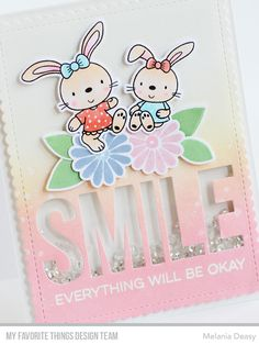 Hi everyone! My Favorite Things All Smiles Card Kit is now available at MFT Store ! This kit is so beautiful, the florals are gorgeous and ...