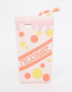 Pin for Later: 30 Funky Phone Cases That'll Freak Everyone Out Asos iPhone 6 Milkshake Jelly Case Asos iPhone 6 Milkshake Jelly Case Girly Phone Cases, Iphone 6 Cases, Coque Iphone 5s, Portable Apple, Phone Accesories, Tech Accessories, Telephone Iphone, Jelly Case, Accessoires Iphone