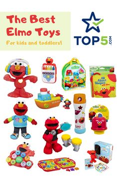 15 Must-Have Elmo Toys That Any Sesame Street Fanatic Will Love - 5 Kids, Cool Kids, Children, Elmo Toys, Sesame Street Toys, Toddler Birthday Gifts, Mega Blocks, Best Kids Toys, Top 5