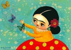 Frida and magic butterflies 2009 Frida Kahlo Diego Rivera, Dell Anima, Frida Art, Betty Boop Pictures, Chicano Art, Mexican Folk Art, Hand Embroidery Designs, Pug Love, Mixed Media Art