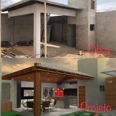 51 New Ideas For Exterior De Casas Patios House Plans, Home, Outdoor Kitchen Design, House Design, Patio Decor, Outdoor Kitchen, Appartment Decor, Rooftop Design, Pool Houses