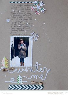 Winter Me by lifelovepaper at Studio Calico
