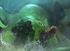 Magic the Gathering: Acidic Slime by Cryptcrawler on DeviantArt