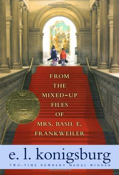 From the Mixed-Up Files of Mrs. Basil E. Frankweiler, E. L. Konigsburs. Required reading from way back in fourth grade.