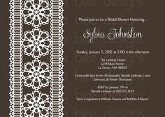 Annamarie Style Wedding/Shower Invitation by brenabeedesigns, $10.00