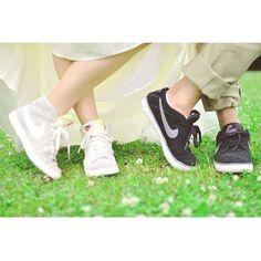 二人でお揃いのスニーカーを履きたい!【スニーカーコーデ】は、どのブランドを選ぶ?* | ZQN♡