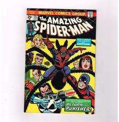 AMAZING SPIDER-MAN (V1) #135 Grade 7.0 Bronze Age classic! 2nd full PUNISHER!!  http://www.ebay.com/itm/-/301870687962?roken=cUgayN&soutkn=JxKS65