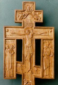 Crucifix, deisis - Aidan Hart Sacred Icons