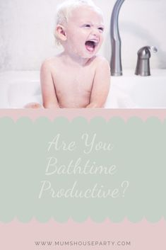 Here's a huge list of things you can do while your preschooler has a bath - all without leaving the bathroom! Writing Lists, Mini Facial, Working Mums, Mummy Bloggers, Try To Remember, Toning Workouts, Bath Time, House Party, Parenting Advice