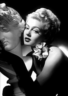 Lana Turner. The famous actress whose daughter killed her gangster boyfriend.