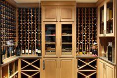 Lakefront Transitional wine cellar - transitional - Wine Cellar - Chicago - Highgate Builders